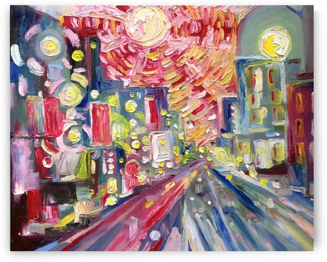 TOKYO LIGHTS IN THE NIGHT LIFE by JAMES EGAKU