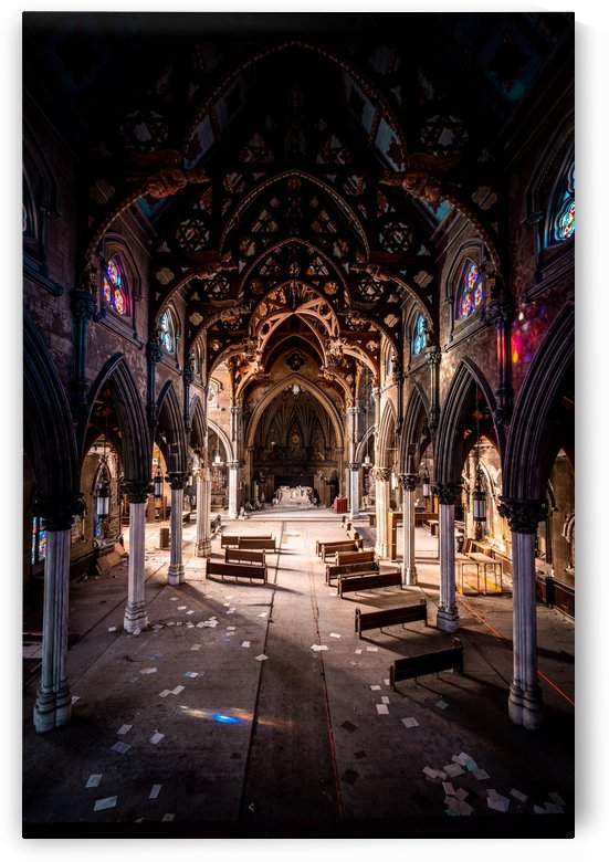 Abandoned Gothic Cathedral by Steve Ronin