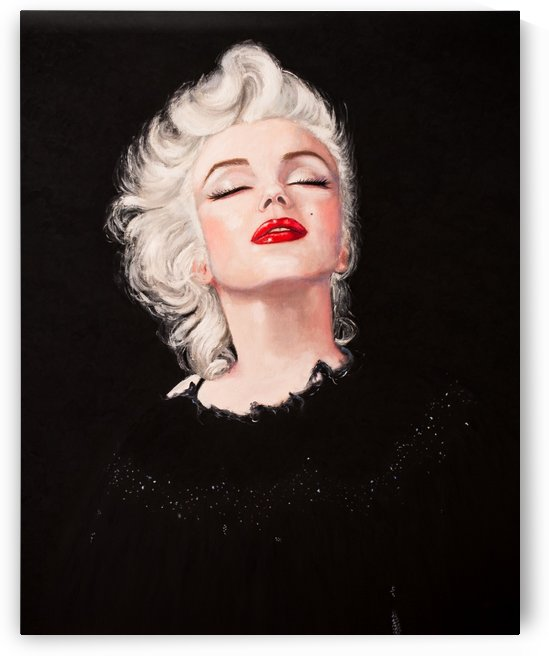 Marilyn in black  by Jocelyne maucotel