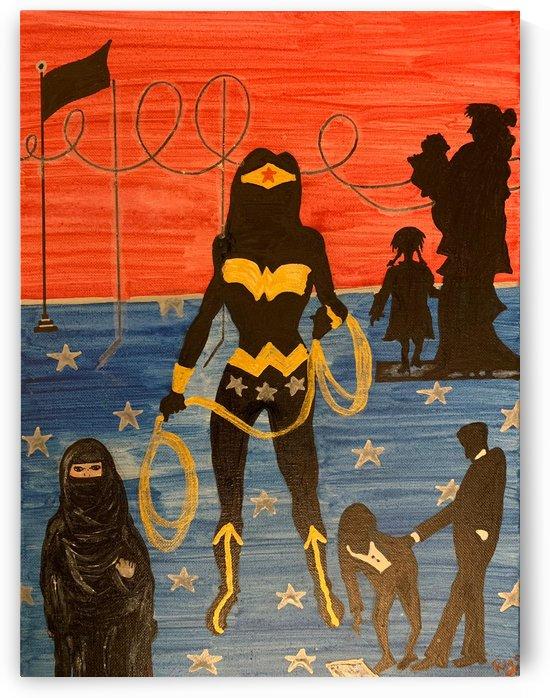 Wonder Woman by RIYA
