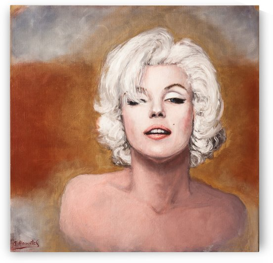 Marilyn last sitting  by Jocelyne maucotel