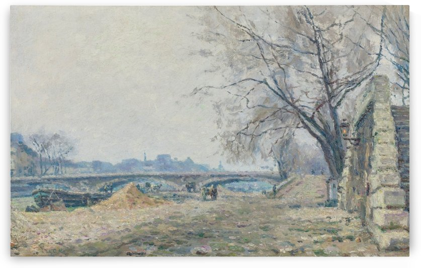The Bridge of Solferino by Maximilien Luce