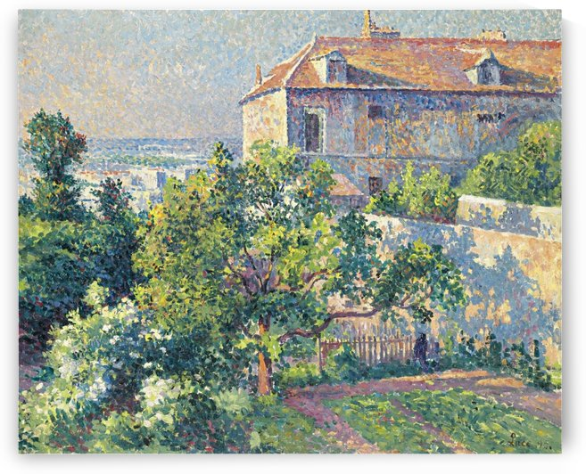 Montmartre, the House of Suzanne Valadon by Maximilien Luce