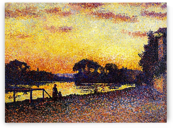 Bessy, Afternoon in the Counryside by Maximilien Luce