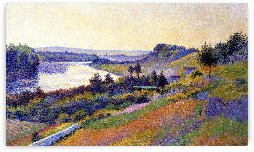 Tugboat on the Seine by Maximilien Luce