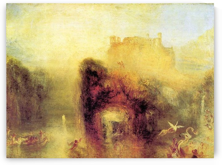 Queen Mabs cave by Joseph Mallord Turner by Joseph Mallord Turner