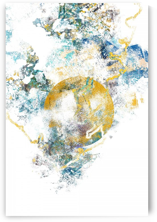 Natures Call - Abstract Painting III by Art Design Works