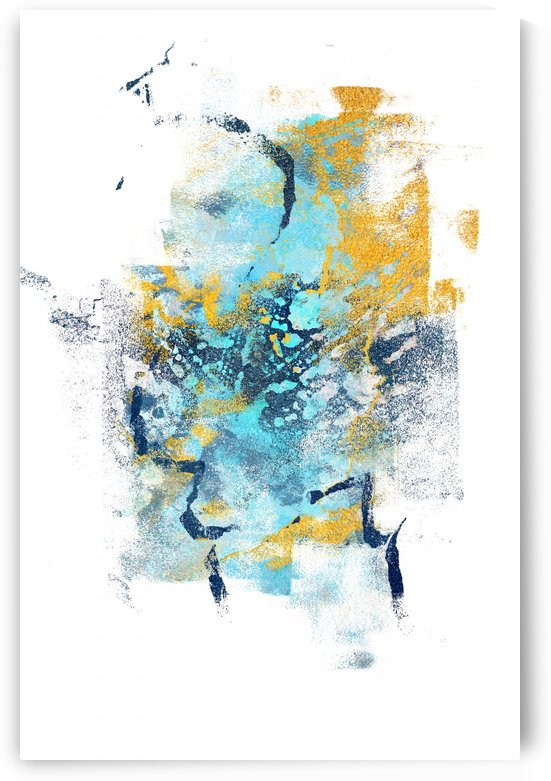 Element Metamorphosis - Abstract Painting IV by Art Design Works