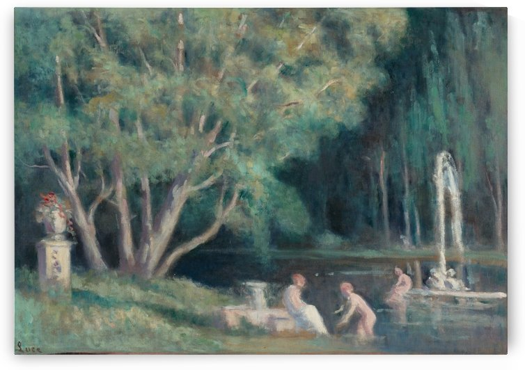 The Bathers in the Water by Maximilien Luce