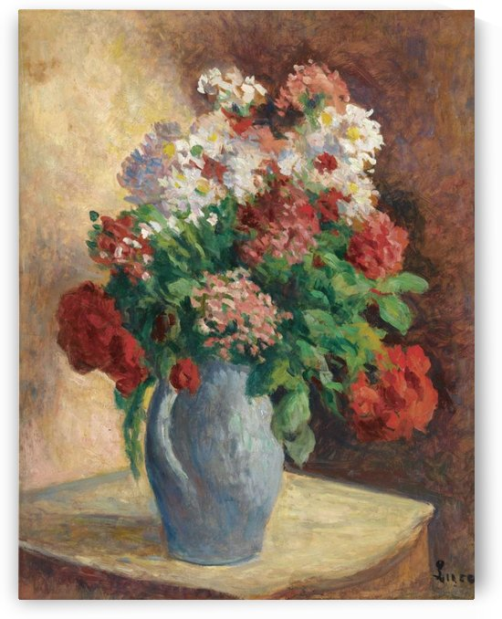 The Vase of by Maximilien Luce