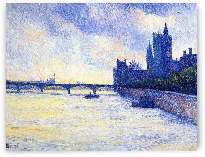The Riverscape by Maximilien Luce