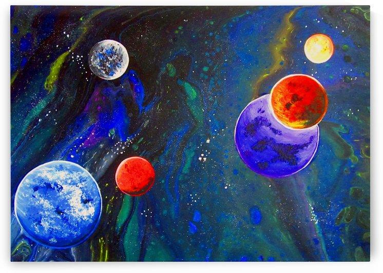 Galactic Neighbours by Carola James