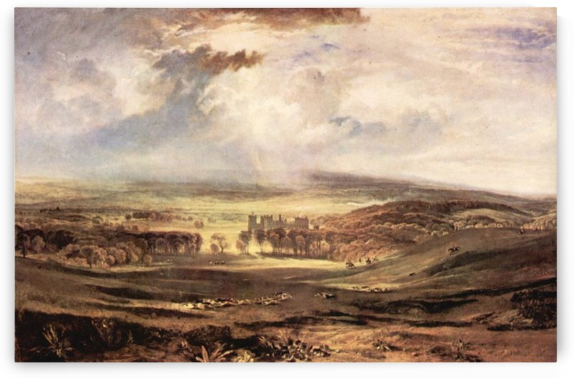 Raby Castle by Joseph Mallord Turner by Joseph Mallord Turner