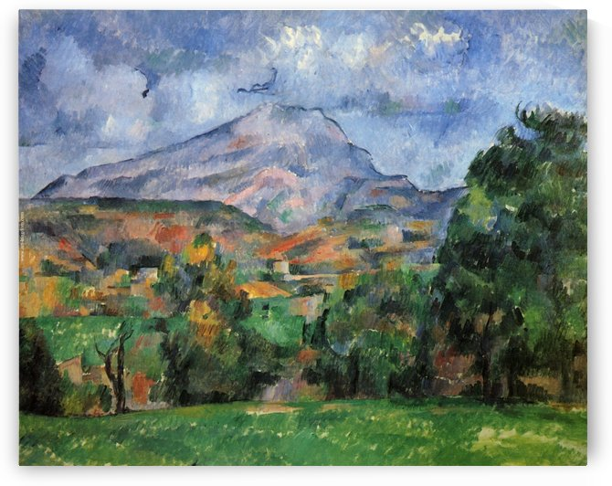Landscape with Hills near Moulineux by Maximilien Luce