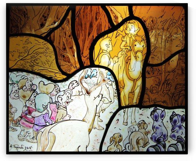 Snow White 1 by Antonio Pappada