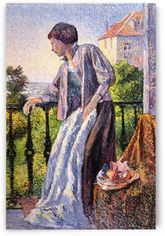 Resting by Maximilien Luce