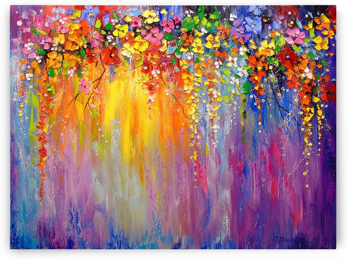 A symphony of colors by Olha Darchuk