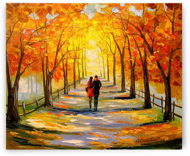 A walk in sunny weather by Olha Darchuk