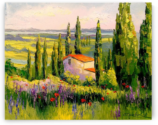 A house in Provence by Olha Darchuk