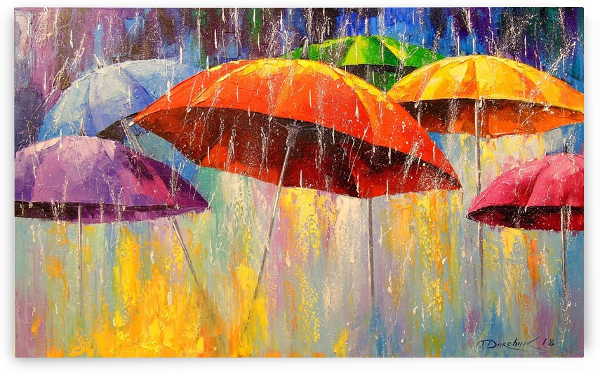 Dancing umbrellas by Olha Darchuk
