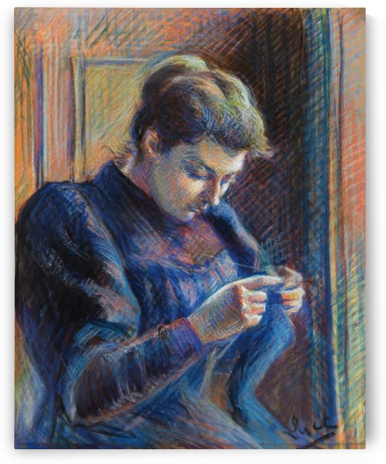 Portrait of Madame Berthier by Maximilien Luce