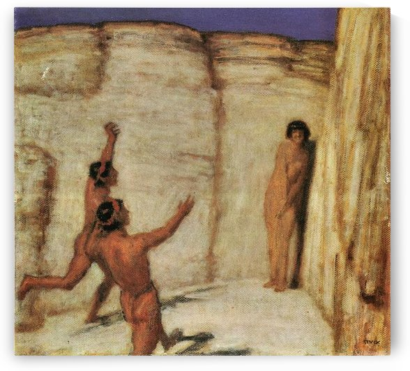 Race by Franz von Stuck by Franz von Stuck