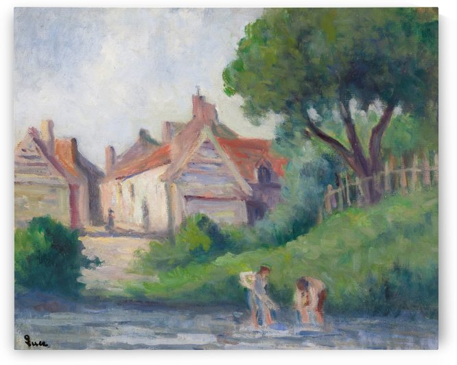 Picquigny by Maximilien Luce
