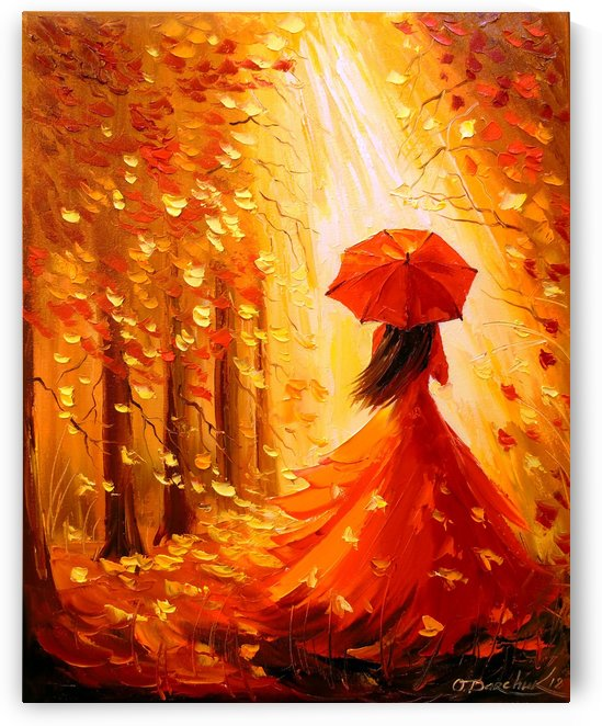 Lady autumn by Olha Darchuk