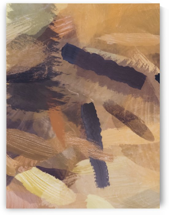 brush painting texture abstract background in black and brown by TimmyLA