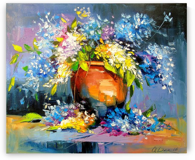 A bouquet of flowers by Olha Darchuk