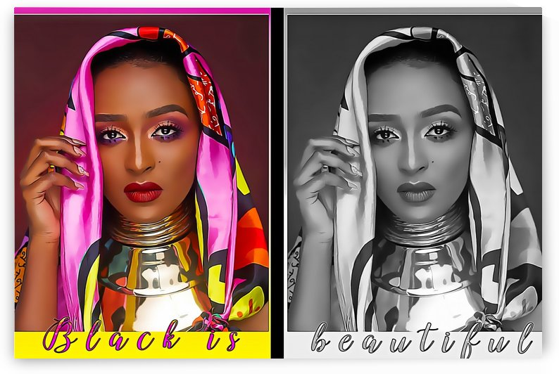 Beautiful Ethiopian Women by Anbessa Graphics