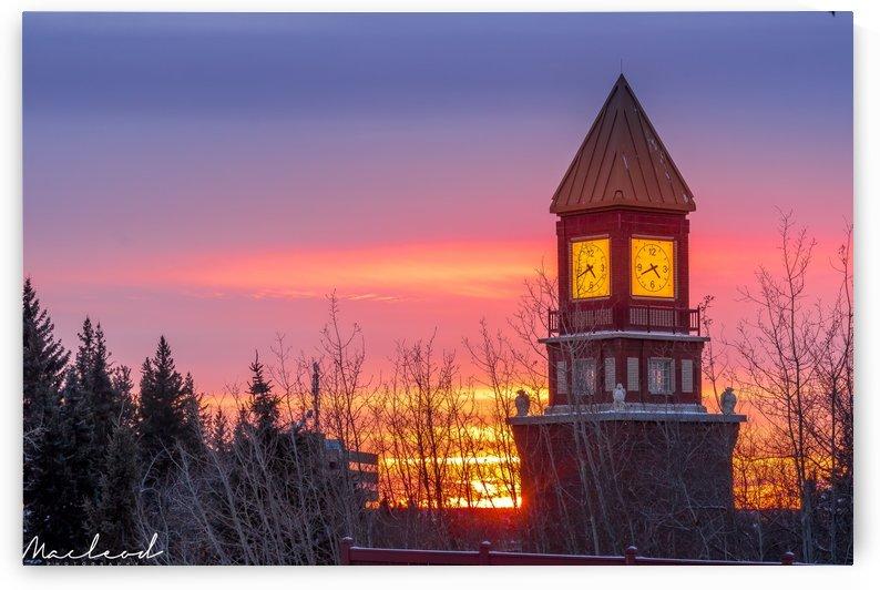 Sunset_StAbClock_Jan2018_IMG_5931 by Brian Macleod