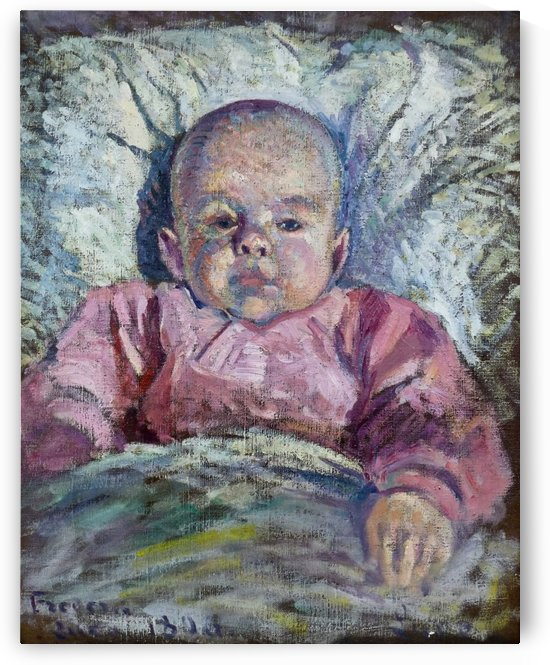 Portrait of Frederic Luce, Bebe by Maximilien Luce