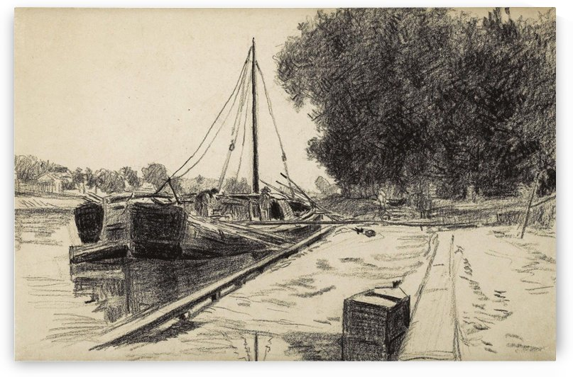 The Barque by Maximilien Luce