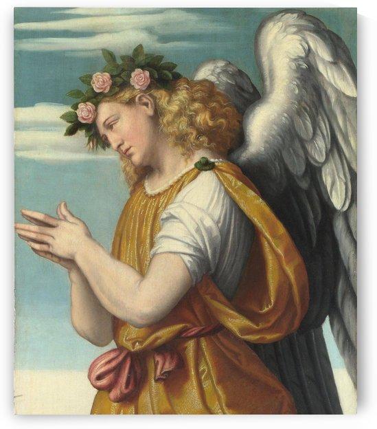 An Adoring Angel by Moretto da Brescia