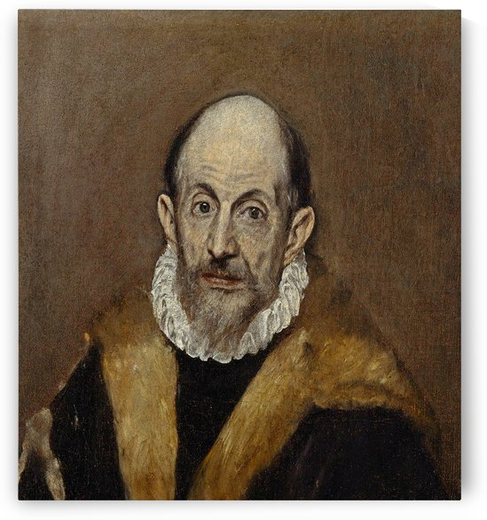 Portrait of a Man by Moretto da Brescia