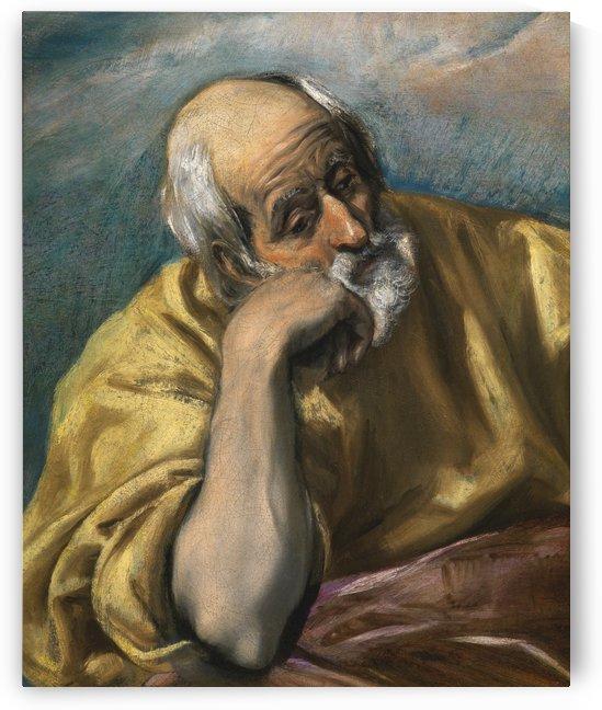 Saint Joseph by Moretto da Brescia