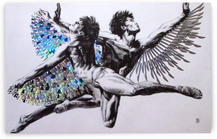 Icarus by Kateryna Bortsova