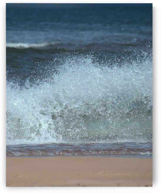 Prince Edward Island beach by Violet Carroll