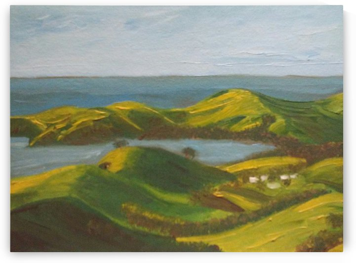 Coromandel Peninsula by Ninabana Art Studio