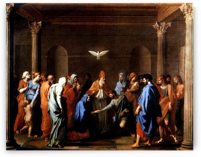 Marriage by Nicolas Poussin