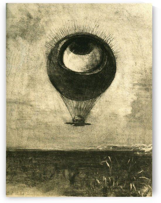 Eye-Balloon by Odilon Redon