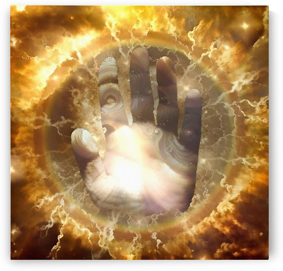 Hand of God by Bruce Rolff