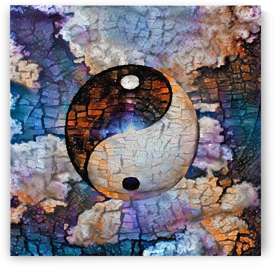 Yin Yang sign by Bruce Rolff