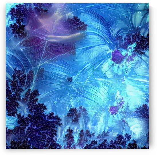 Abstract blue colors by Bruce Rolff