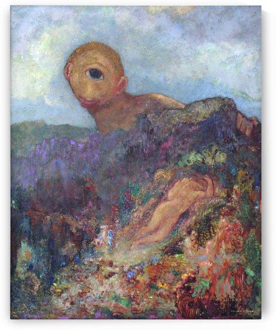 The Rocky Slope by Odilon Redon