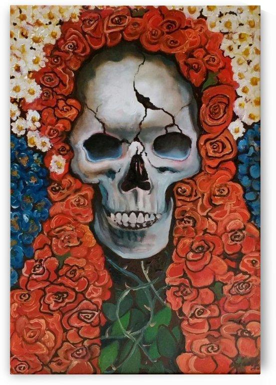 Santa Muerte Flowers by Generoso Napoliello