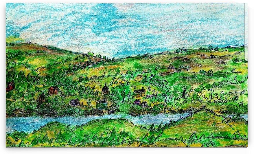 The River by djjf