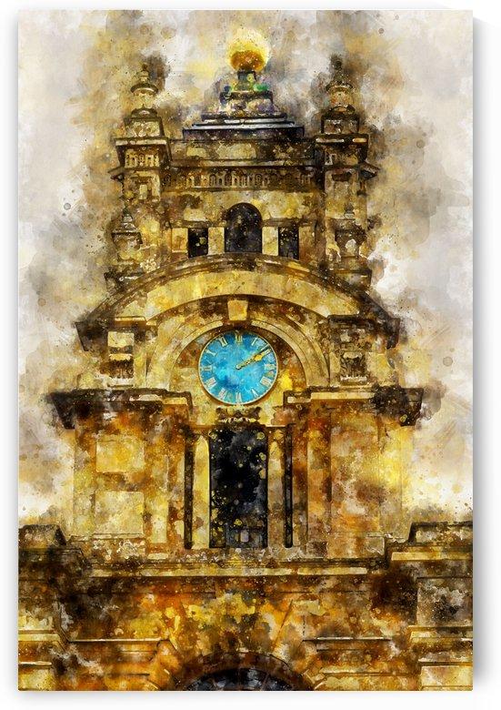 Blenheim Clock by Nancy Calvert