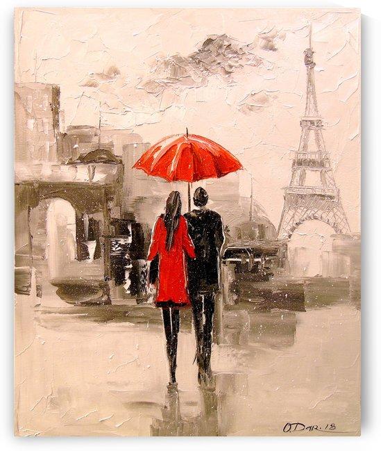 Paris walk by Olha Darchuk